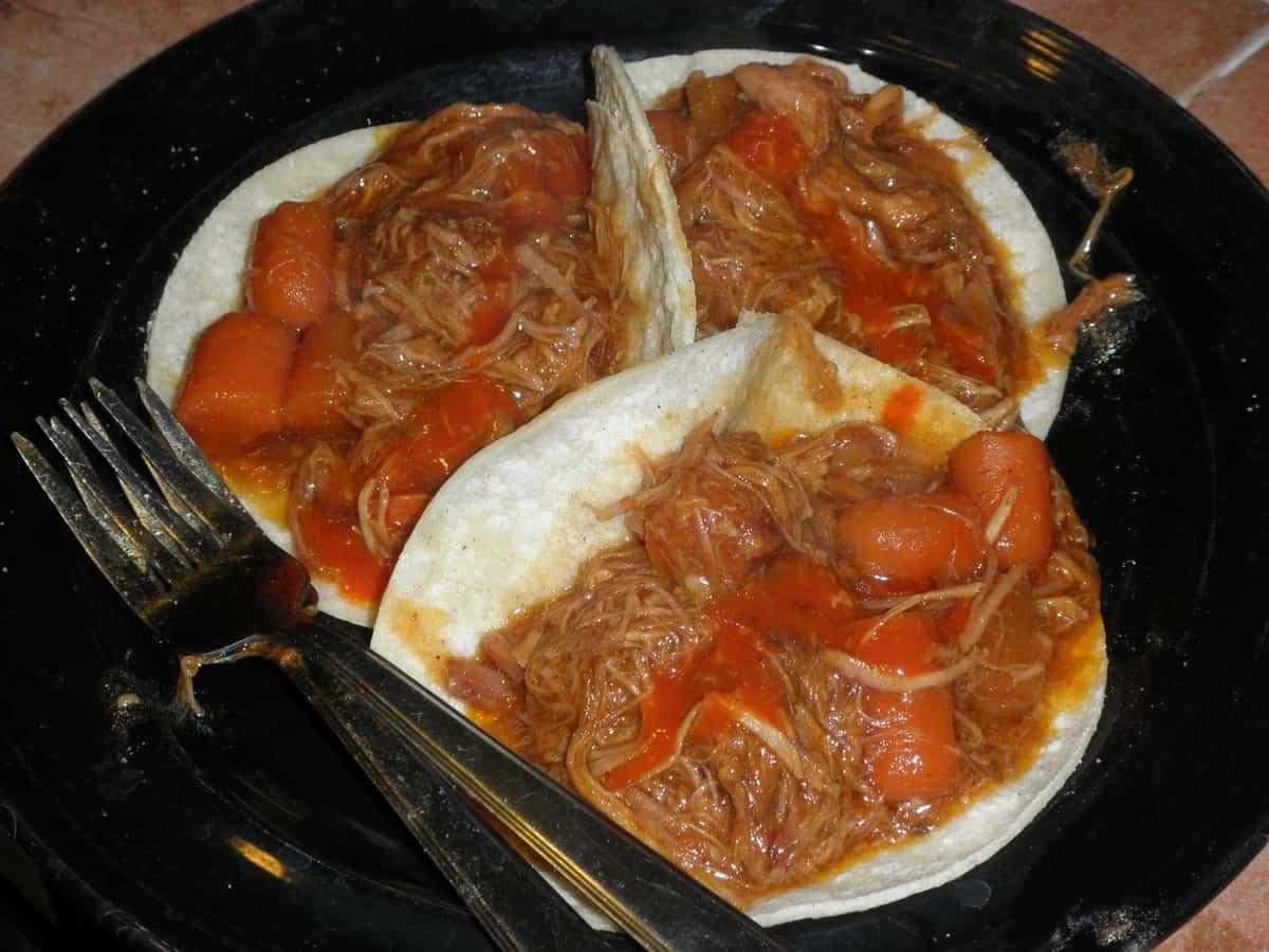 Polynesian Pulled Pork Tacos