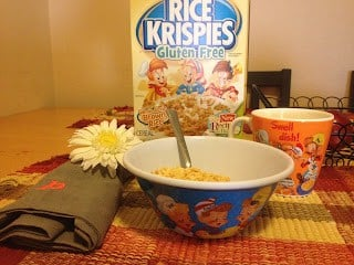 Kellogg's Gluten Free Rice Krispies GIVEAWAY and Feature