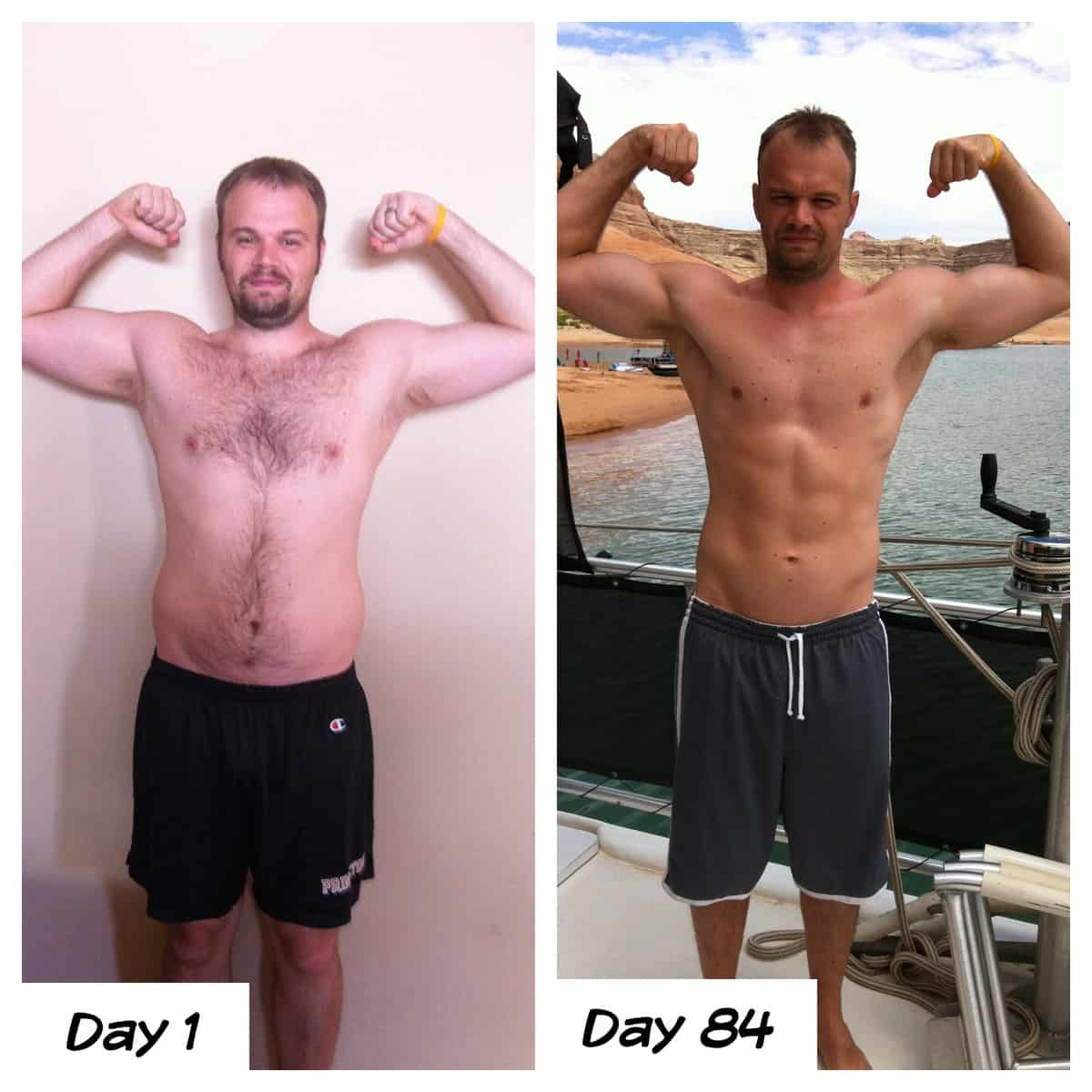 Our P90X Challenge…Josh's Results