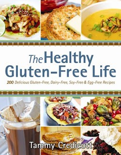 Author Autographed copy GIVEAWAY & Cookbook Review: The Healthy Gluten-Free Life