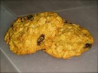 Gluten-Free Oatmeal Raisin~25 Days of Christmas Cookies #1
