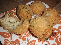 Brazilian Chicken Fritters