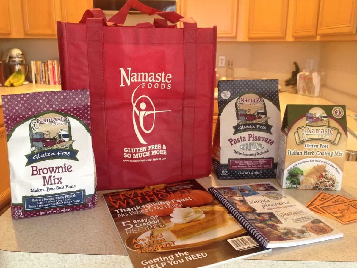 #23 of the 25 Days of Gluten Free Giveaways featuring: Namaste!!