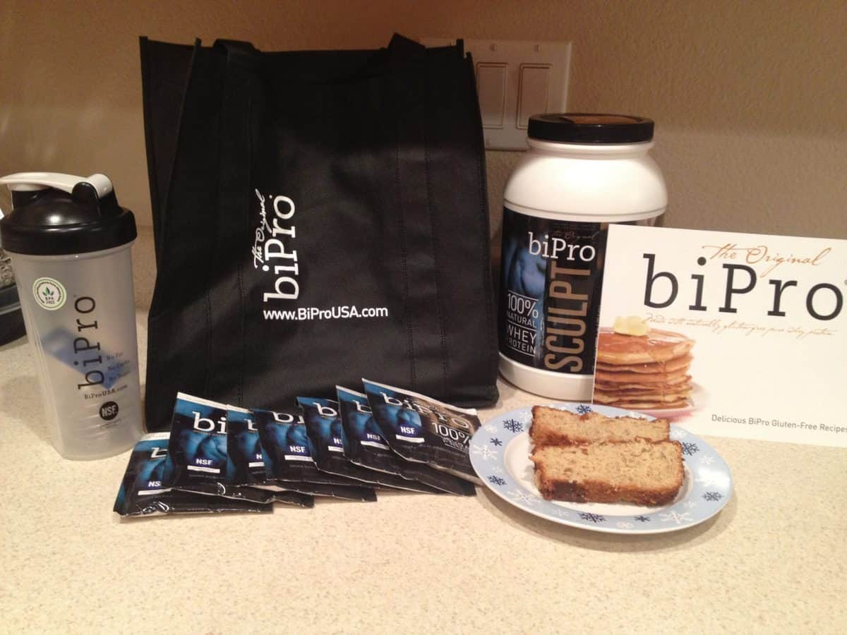 #12 of the 25 Days of Gluten Free Giveaways featuring: BiPro!!