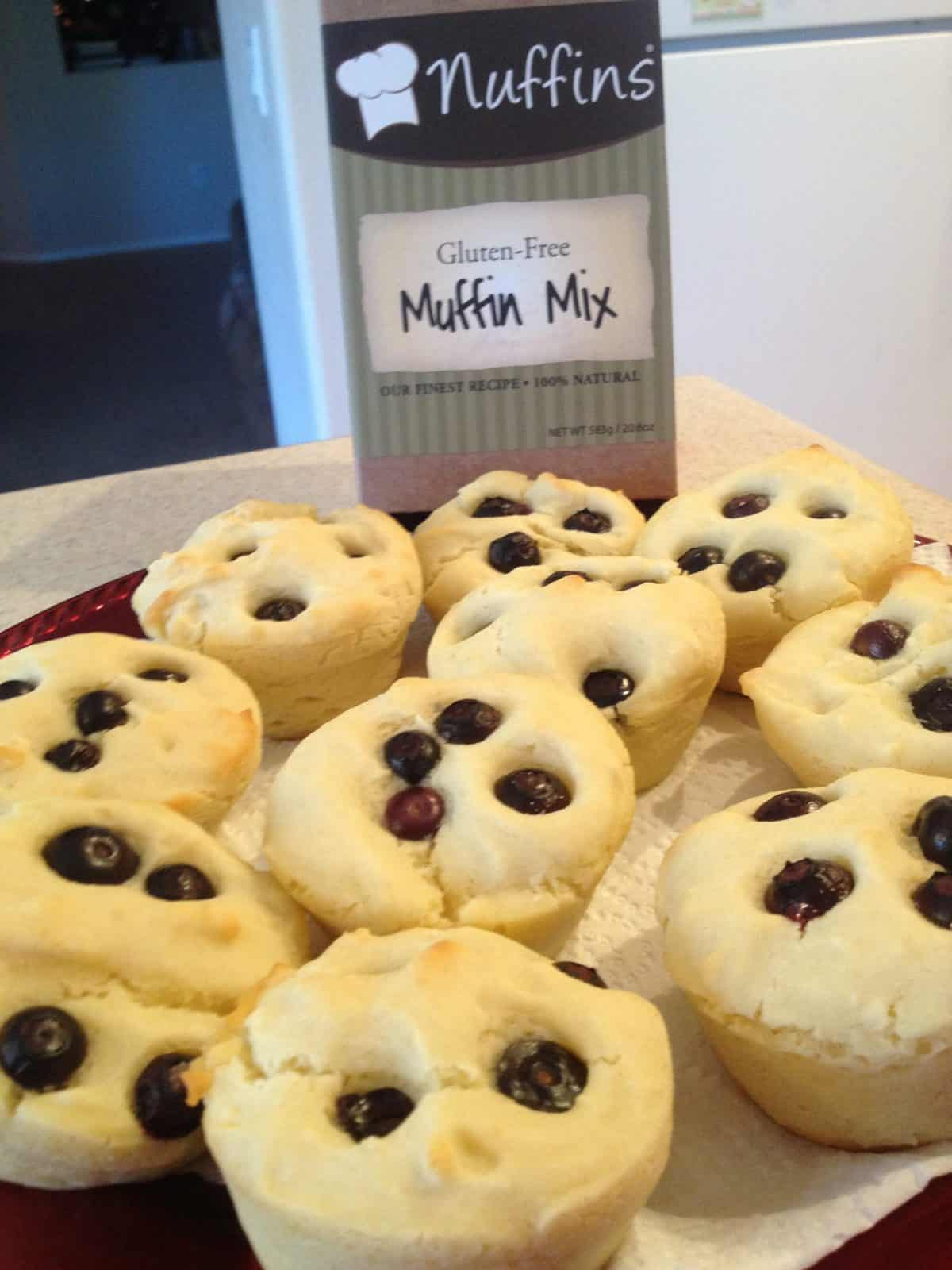Nuffins® Gluten Free Baking Mixes Feature, Review and GIVEAWAY!!