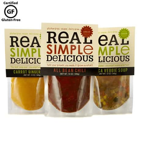 Cook! Real Simple Delicious Gluten Free Soups Review
