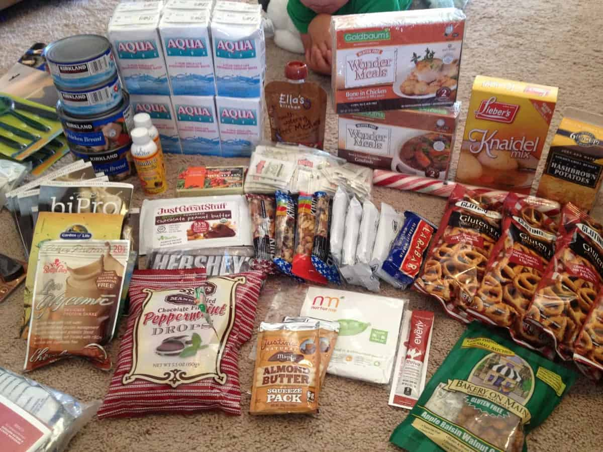 Are you prepared? Gluten Free 72 hr. Kits