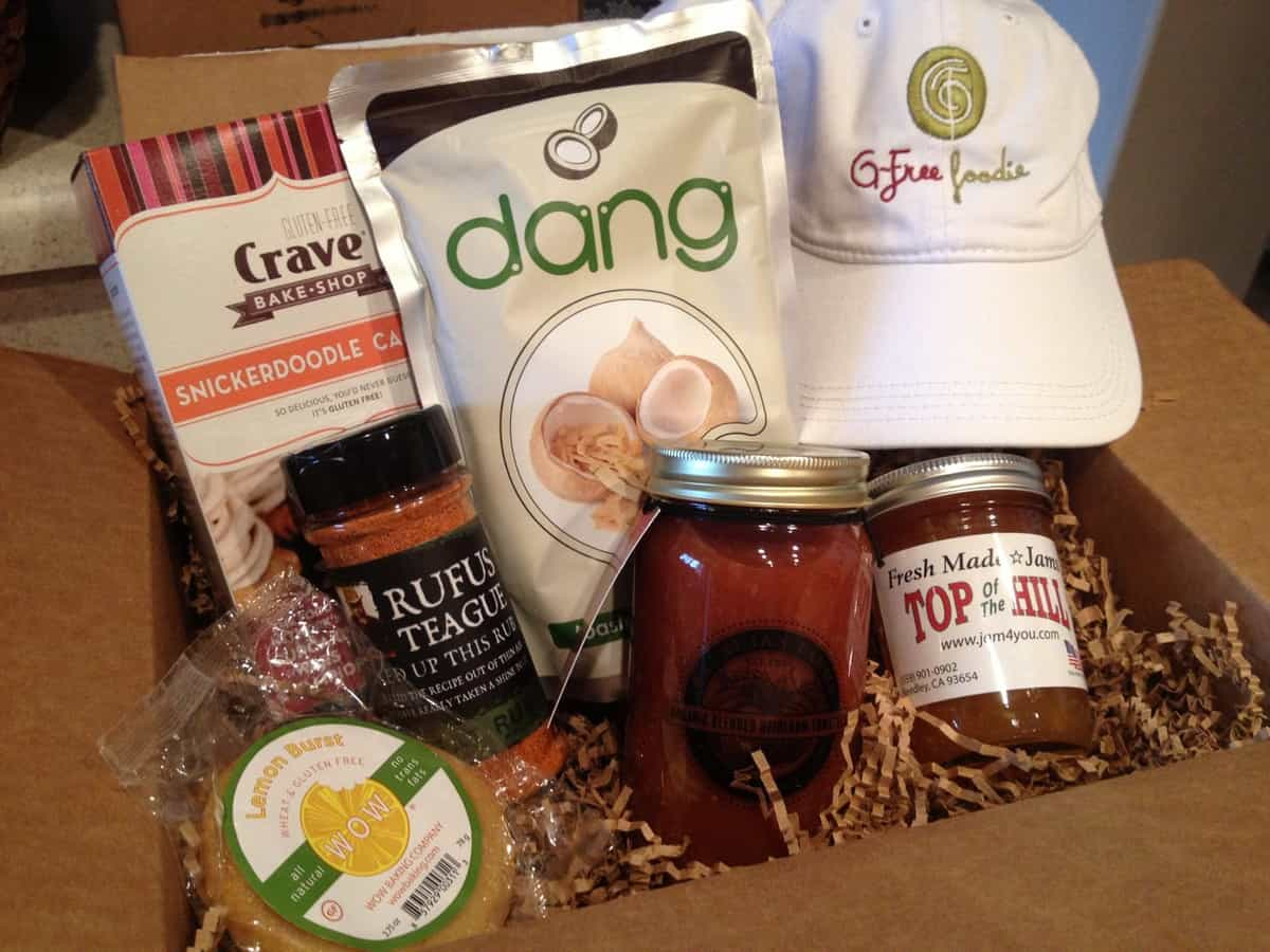 G-Free Foodie Box Club feature and GIVEAWAY!!