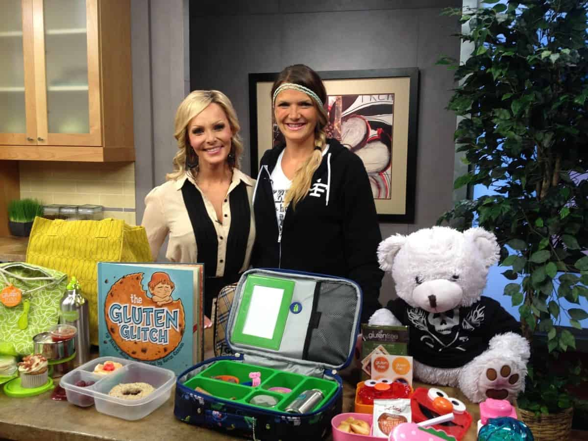 Featured gluten-free segments on 3TV Your Life A to Z morning show