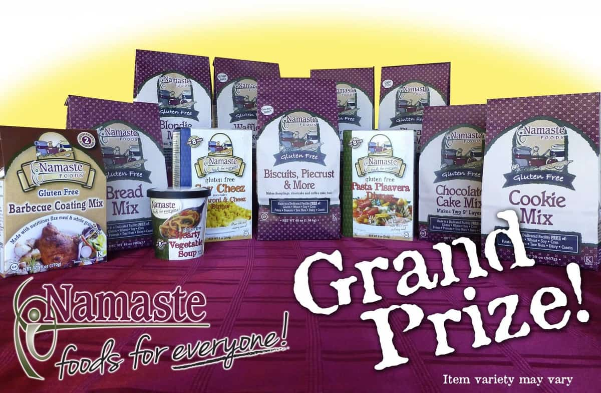 25 Days of Gluten-Free Giveaways #8 Namaste Foods
