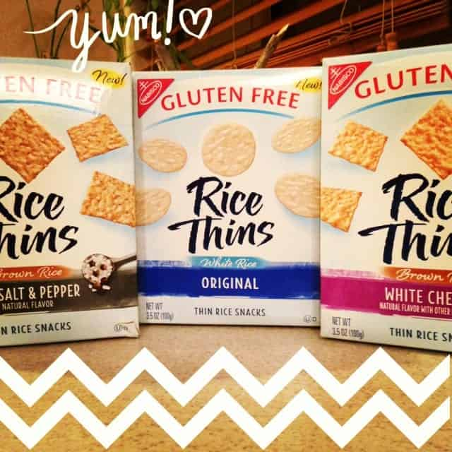 Nabisco Rice Thins Feature and GIVEAWAY!!