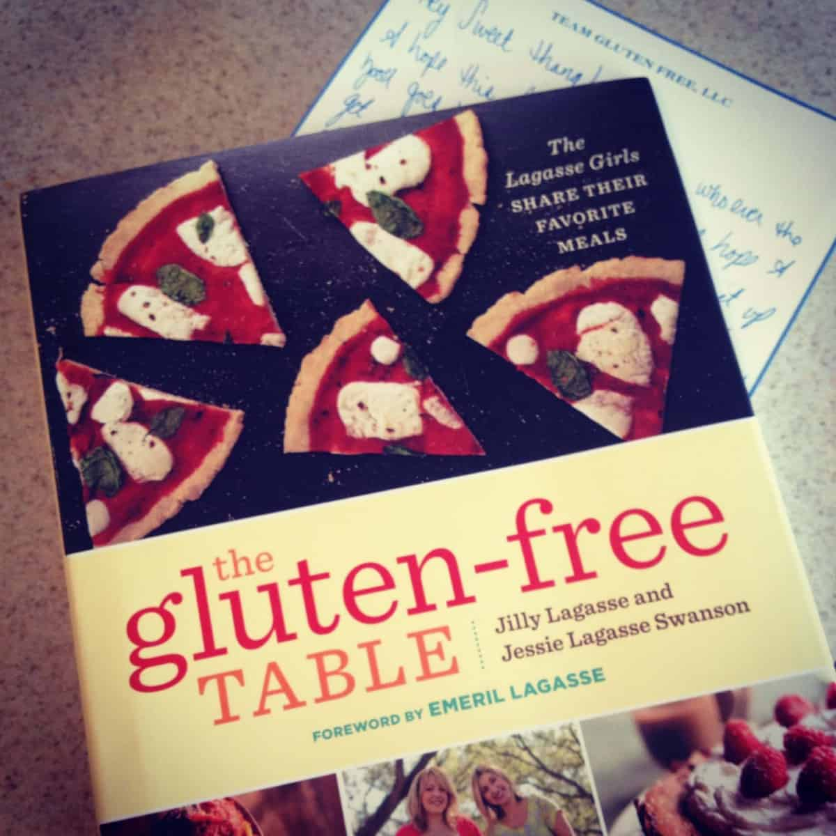 Lagasse Girls: The Gluten-Free Table Cookbook GIVEAWAY & Review