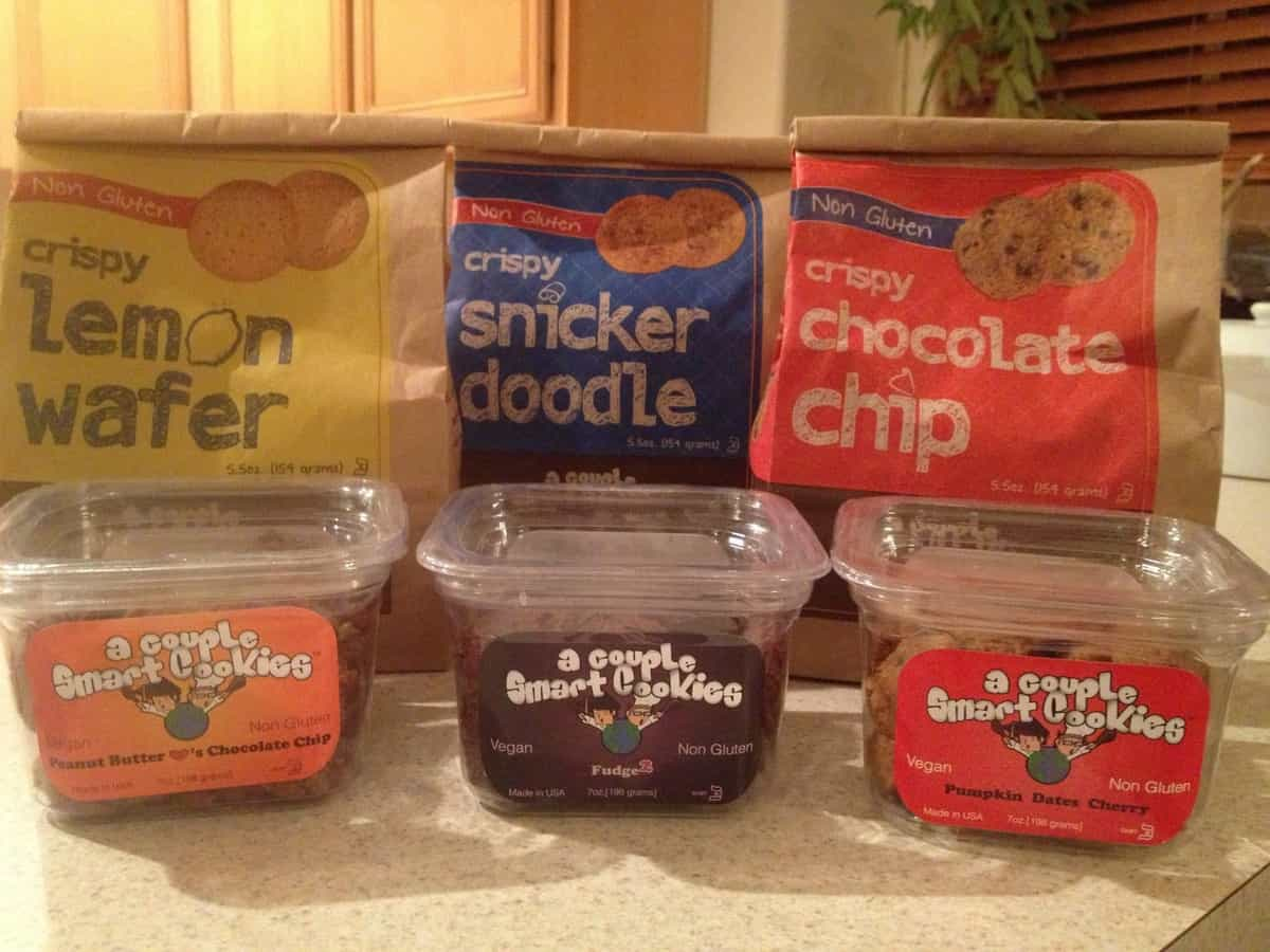 A Couple Smart Cookies Gluten-Free, Vegan Feature & Giveaway!!