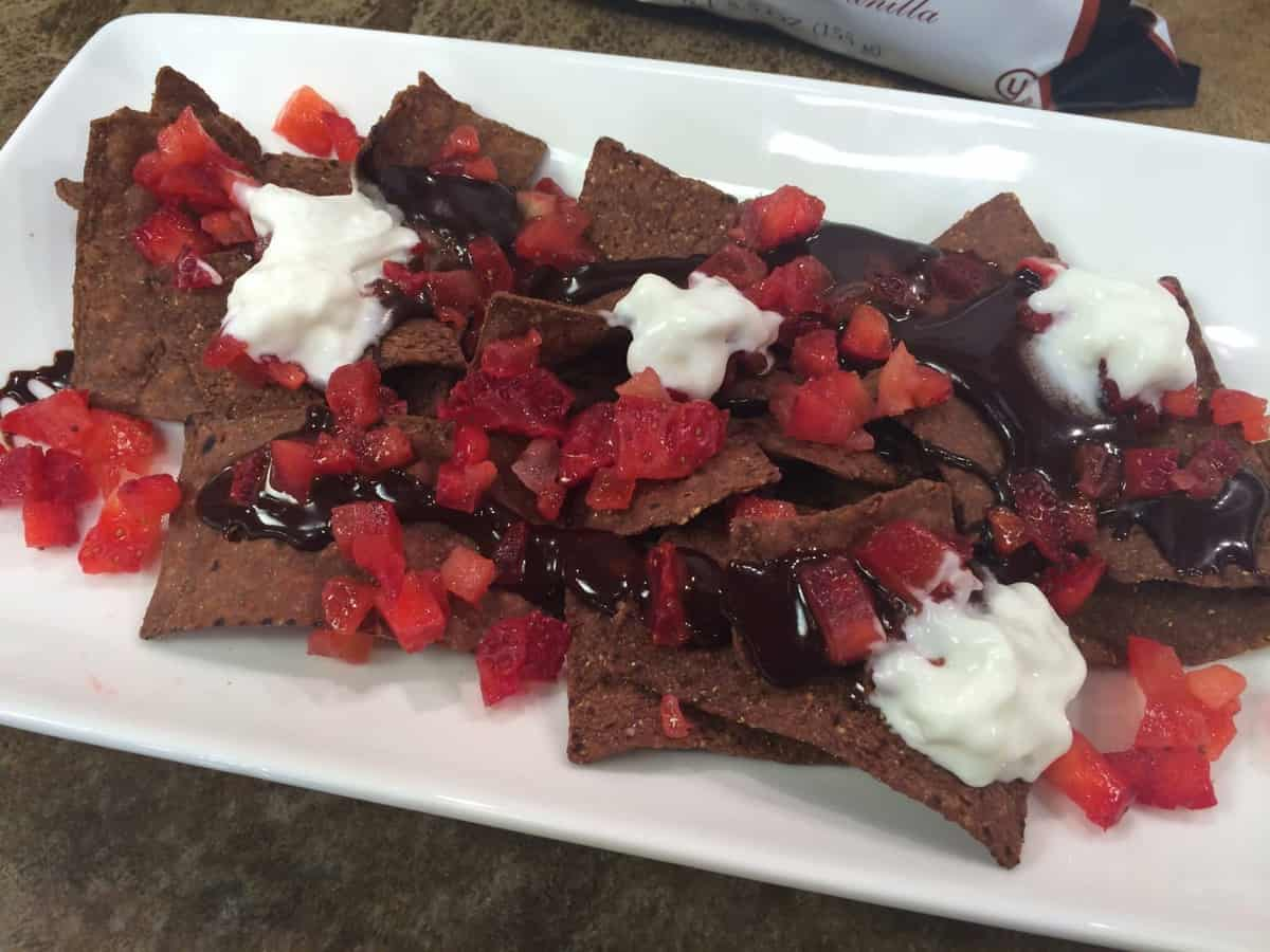 Sweet Chocolate Nachos (Perfect for Valentines Day!) & GIVEAWAY!!