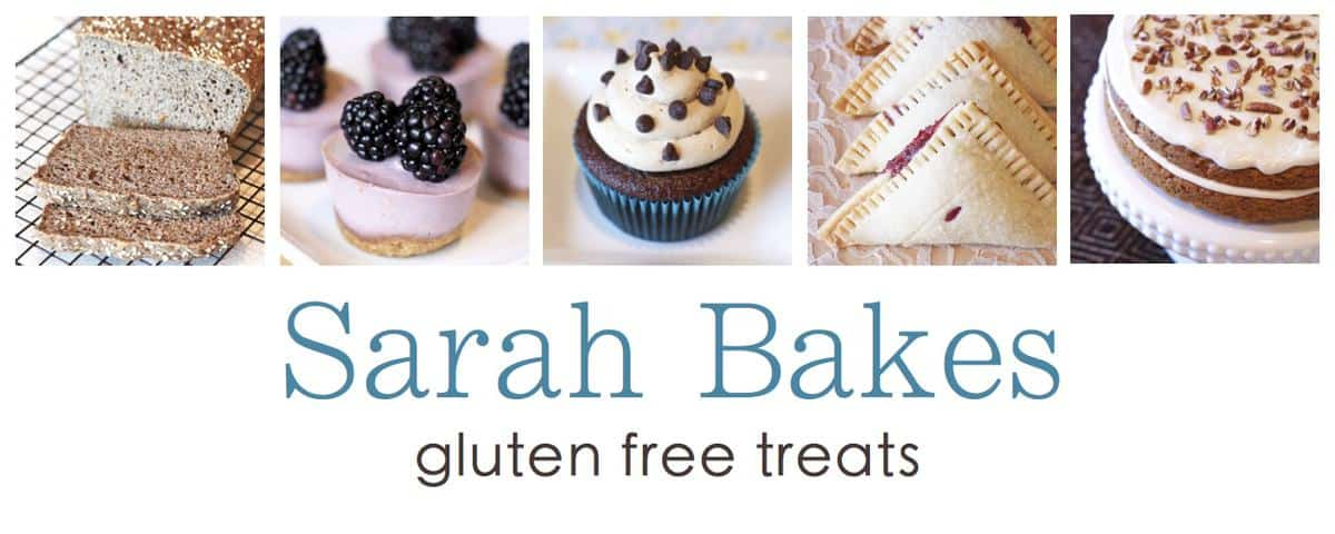 Tell All Tuesday Featuring Sarah of Sarah Bakes Gluten Free Treats