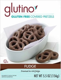 Glutino Fudge Pretzels Feature & Giveaway!!