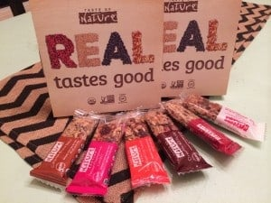 Taste of Nature Gluten-Free Bars Feature & Giveaway!