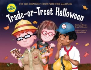 Trade-or-Treat Halloween (Coping With Food Allergies) Book Feature & Giveaway!!