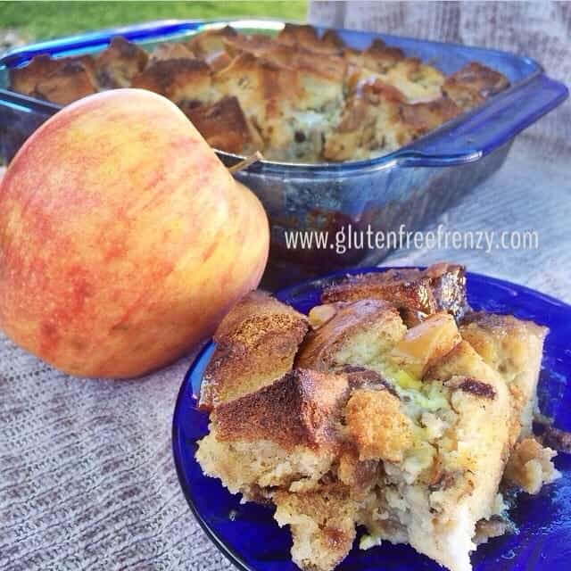 Gluten-Free Caramel Apple French Toast Bake