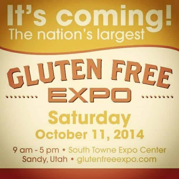 National Gluten Free Expo SLC, UT Ticket Giveaway!!