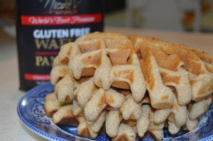 Nicole's Naturals Gluten-Free Waffle Mix & GIVEAWAY (Sponsored)