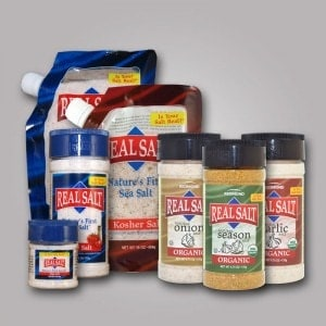 25 Days of Gluten-Free Giveaways™ #6- Real Salt/Redmond Trading