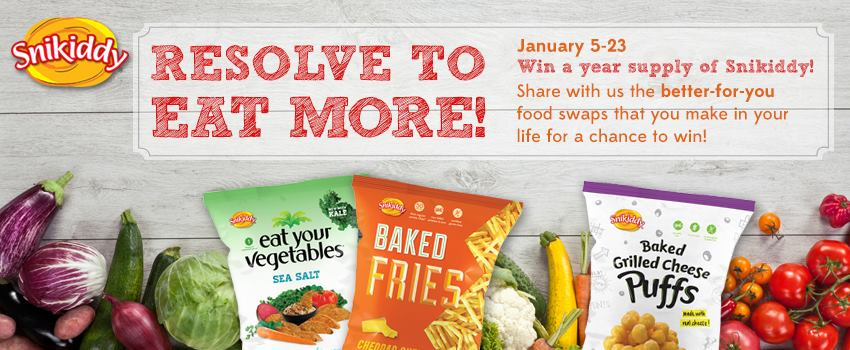 *Gluten-Free* New Year, New You! Featuring Snikiddy +GIVEAWAY!