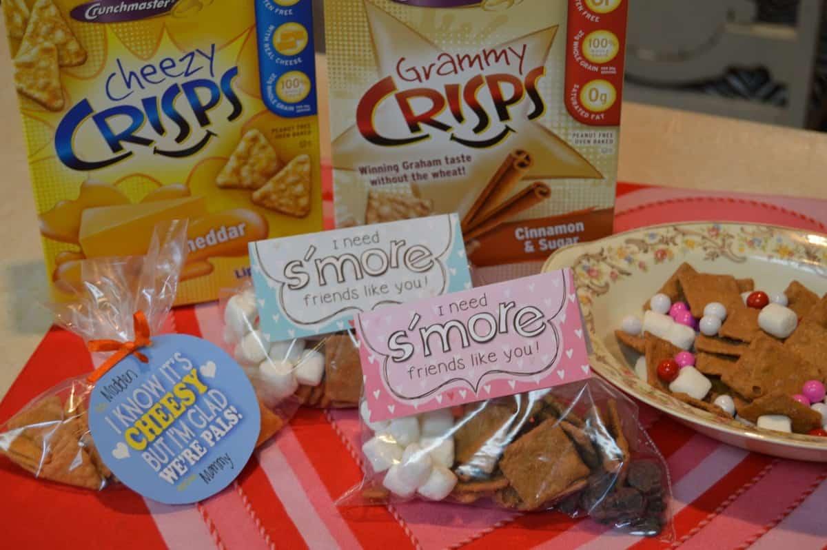 Gluten-Free Valentines w/ Crunchmaster & $100 Giveaway!!