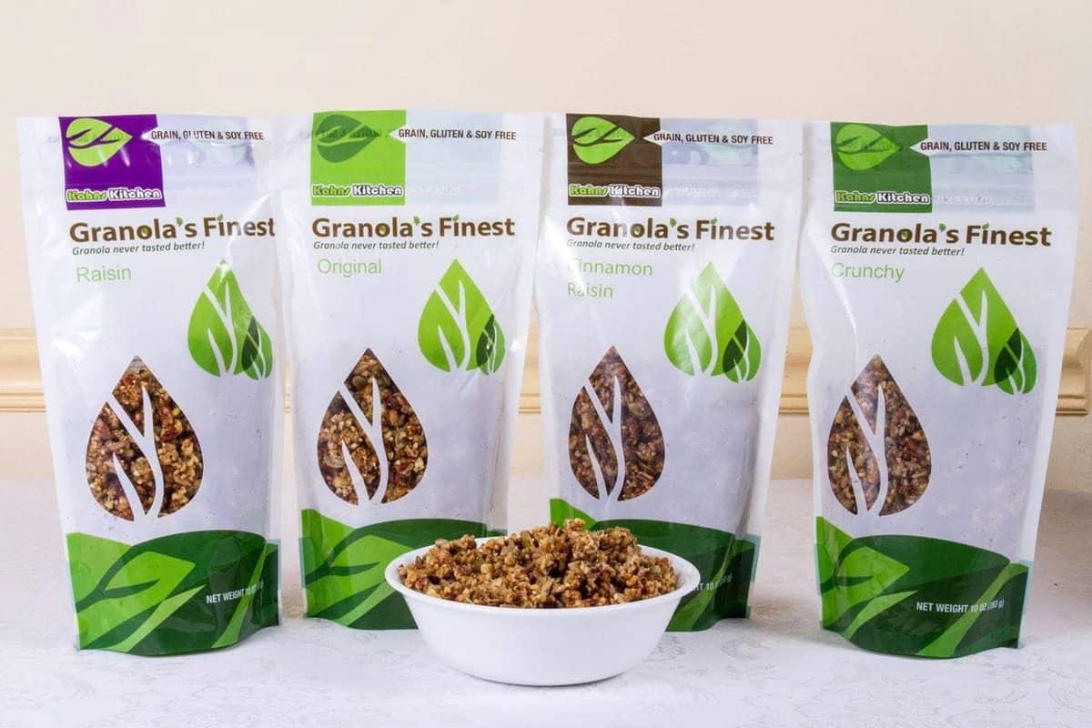 Kahns Kitchen Paleo & Gluten-Free Granola Feature PLUS some coupon codes