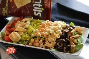 Enjoy Life Foods Vegan Gluten-Free Pizza Salad