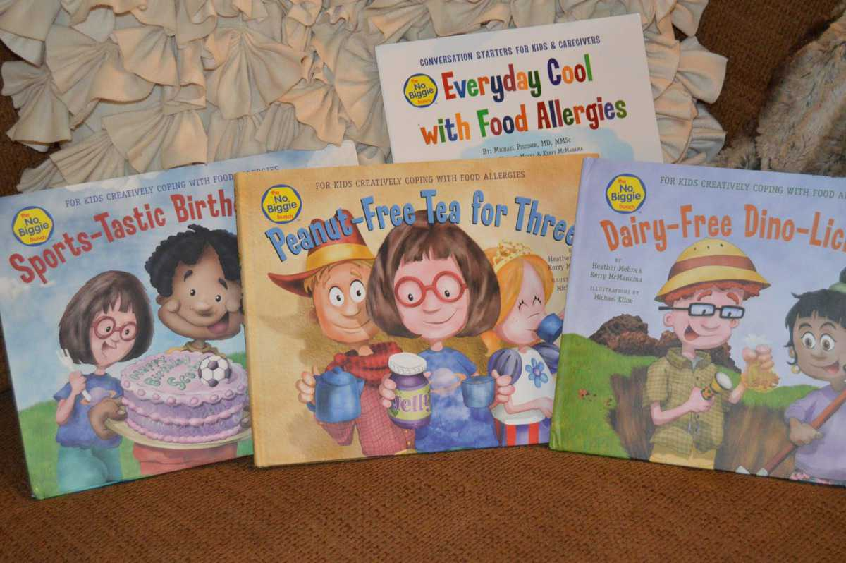 No Biggie Bunch Food Allergy Books Feature