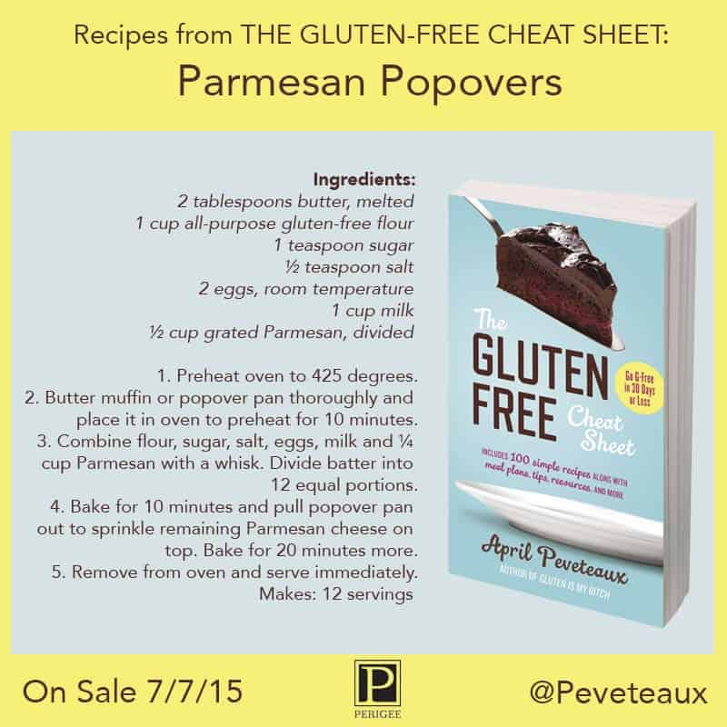 The Gluten Free Cheat Sheet Book Review & Giveaway
