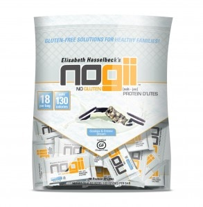 Sponsored: NoGii's NEW Cookies & Creme' Gluten-Free Protein Bars Review & Giveaway!!