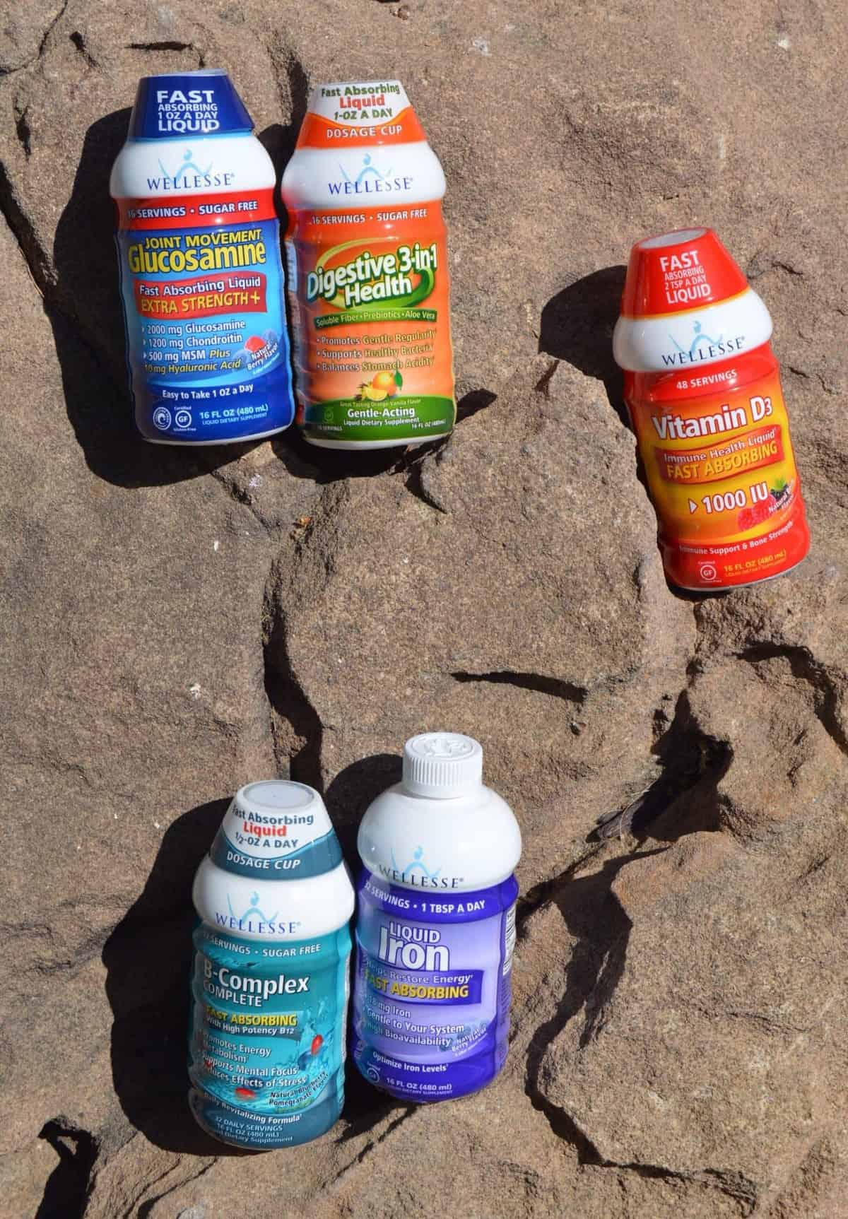 These are a few of my favorite GLUTEN-FREE things: Wellesse Supplements!