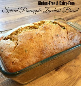 Gluten-Free, Dairy-Free Spiced Pineapple Zucchini Bread (PLUS a Namaste Foods Giveaway)