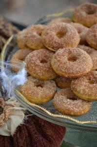 Gluten-Free Pumpkin Spice Donuts {Gluten-Free}