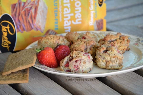 Strawberry Cheesecake Cookies {Gluten-Free} and a Pamela's Products Giveaway!