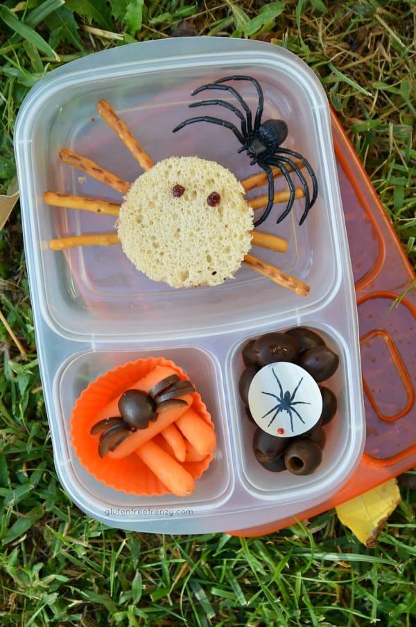 Spider Sandwiches {Gluten-Free}