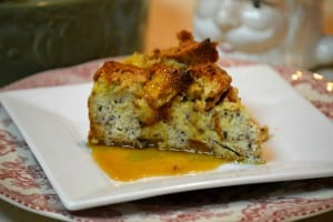 25 Days of Gluten-Free Giveaways™- Udi's & Easy Gluten-Free Holiday Spiced Bread Pudding w/ Buttermilk Syrup