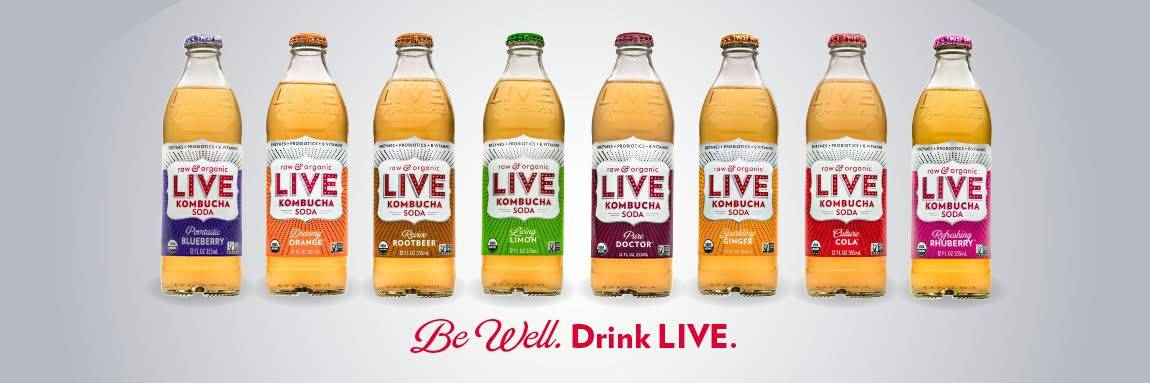 25 Days of Gluten-Free Giveaways™- Live Soda Kombucha