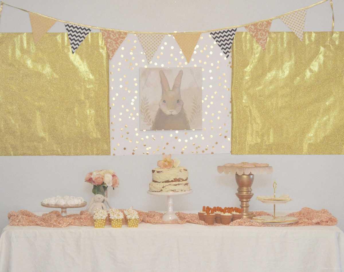Chubby Bunny 1st Birthday Party