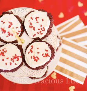 Ooey Gooey Red Velvet Cookies {Gluten-Free}