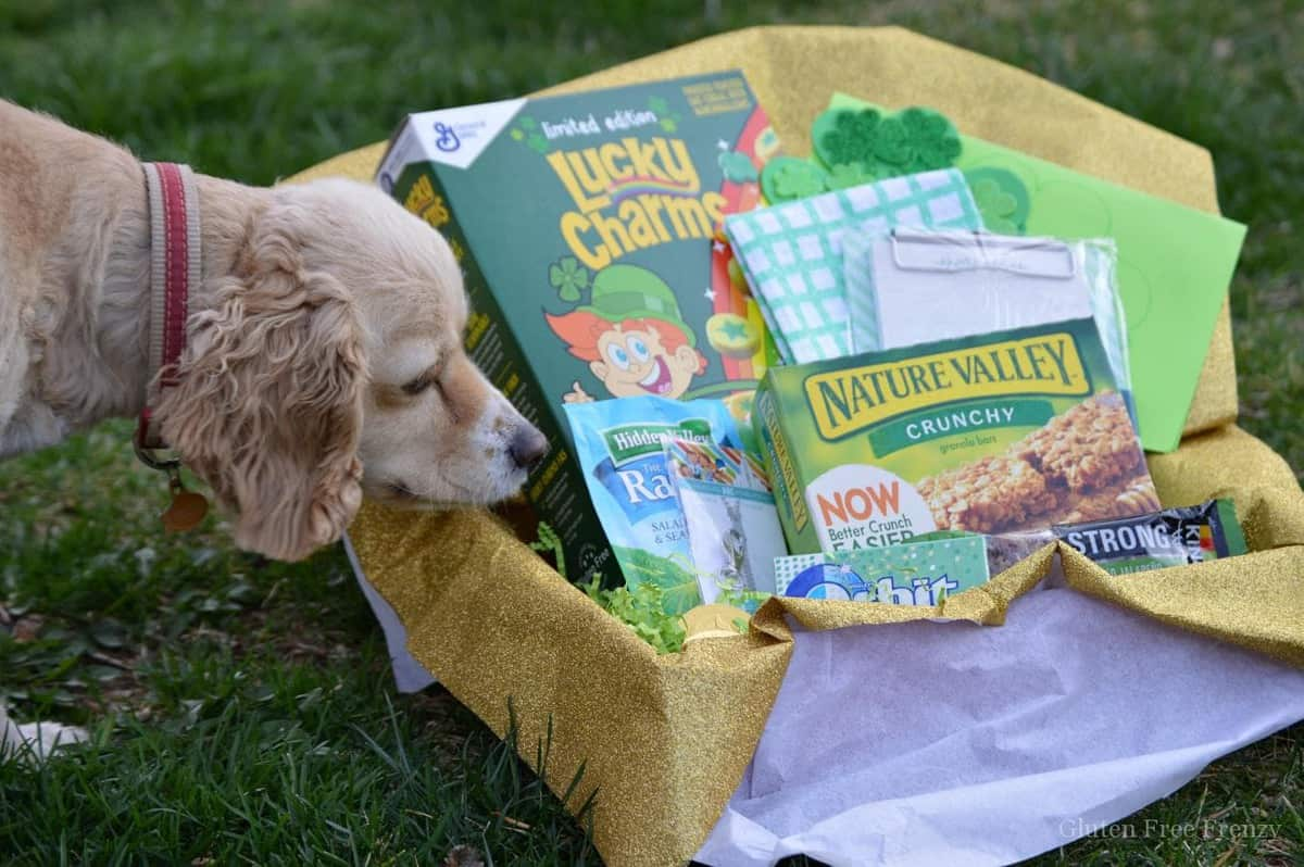 """DIY St. Patrick's Day Greenie Box- """"Lucky to Have You"""""""