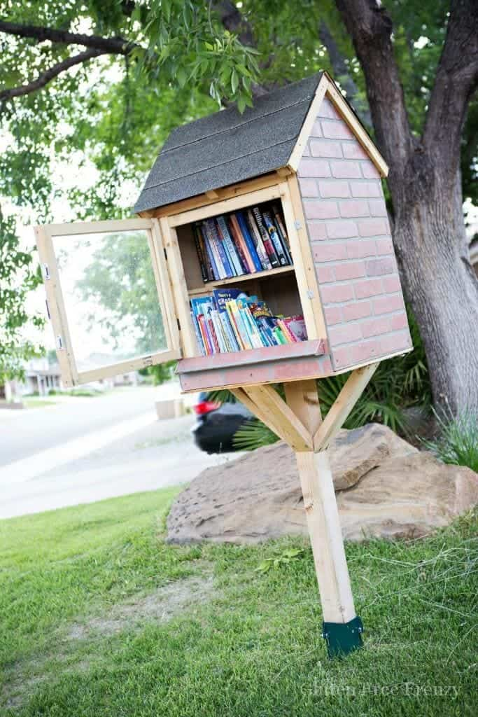 little free library instructions
