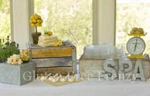 Lemon, Lavender & Honey Spa Party with Gluten-Free Lemon Cake Recipe