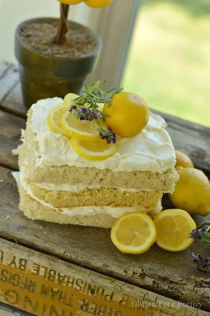 Lemon Lavender Spa Party