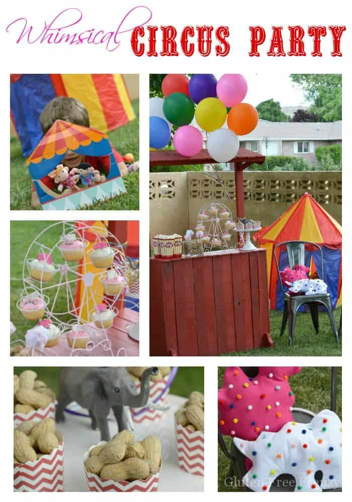 Whimsical circus party freetobe this vivacious life - Carnival theme party for adults ...