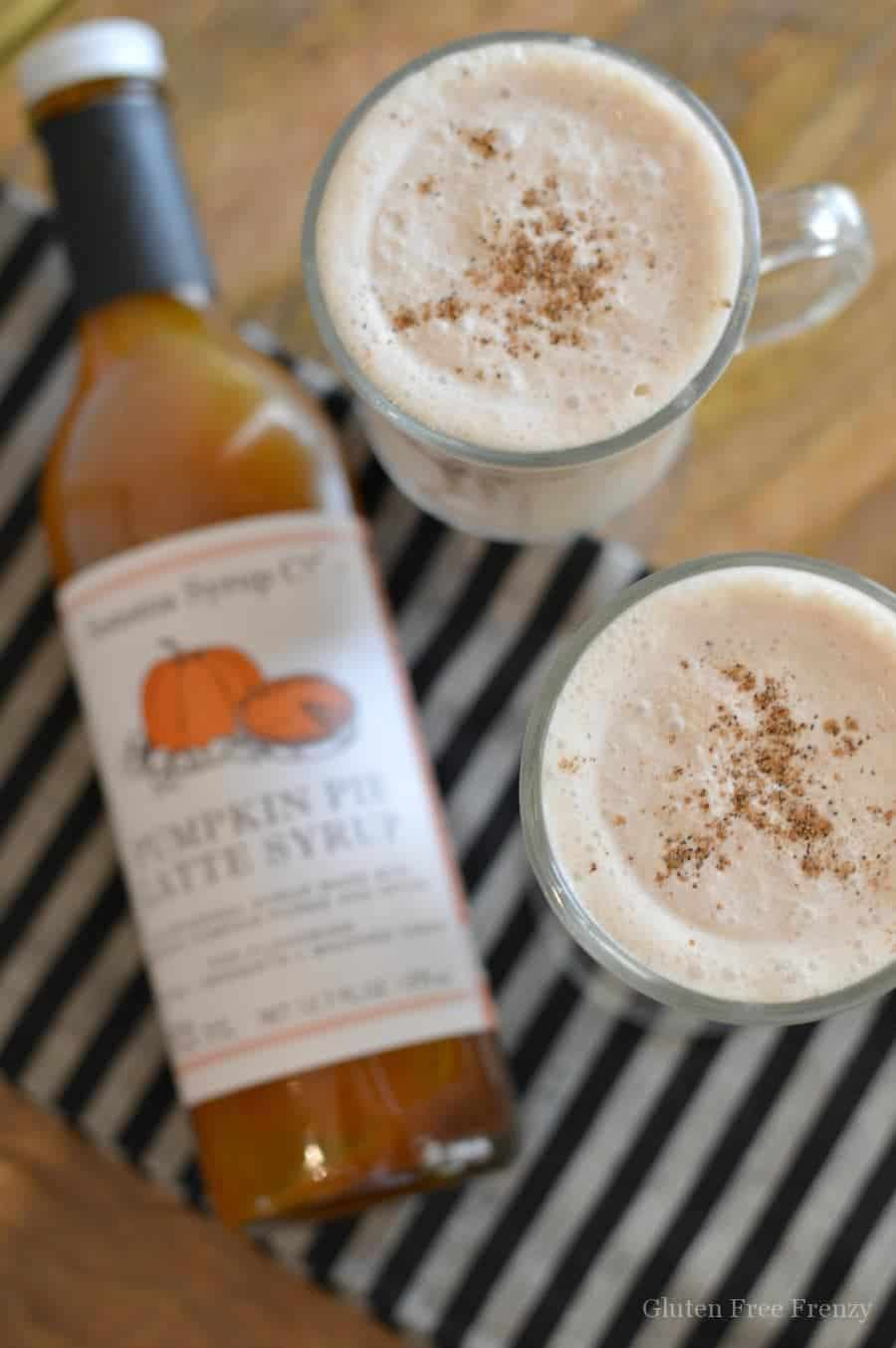 Sonoma Syrup Co. Pumpkin Pie Smoothie & GIVEAWAY