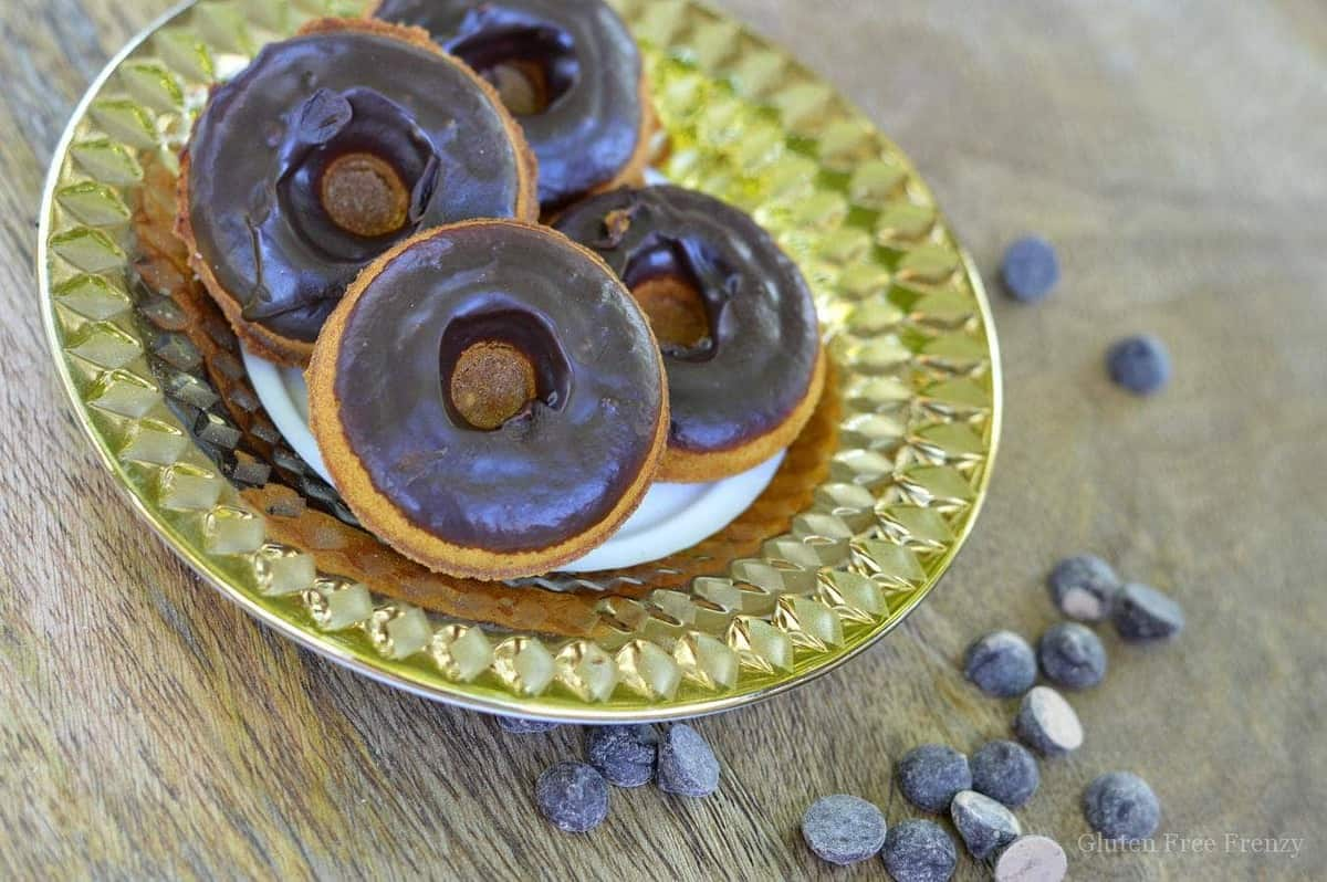 Chocolate Dipped Pumpkin Spice Donuts {Gluten-Free & Dairy-Free}
