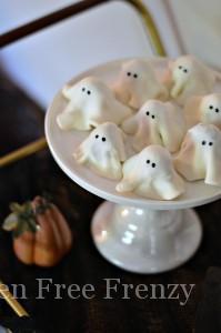 No-Bake Ghost Cookies {Gluten-Free}